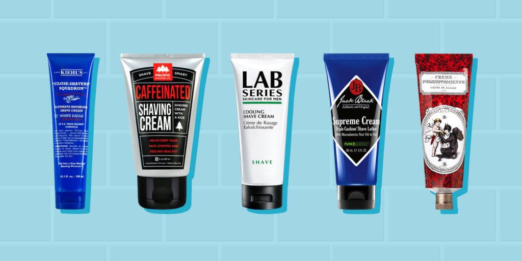 Shaving Cream And Electric Razors